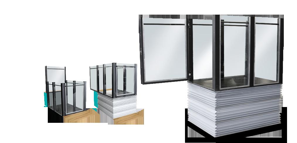 plateforme verticale l vateur pmr pour erp. Black Bedroom Furniture Sets. Home Design Ideas